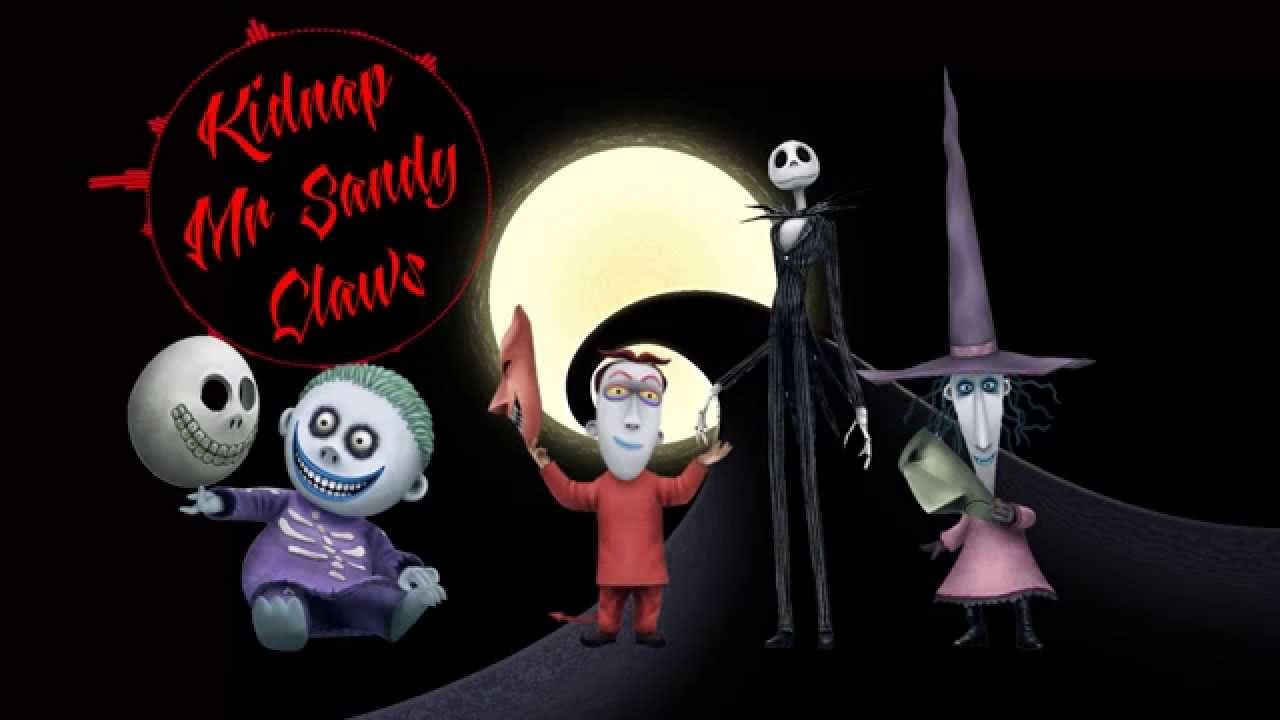 8 Bit Remix | Kidnap The Sandy Claws | Nightmare Before Christmas ...