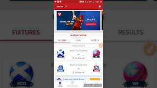 SCO vs WI world cup qualifier match dream 11 team and predictions