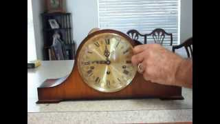 Haid Triple Chime Mantel Clock.