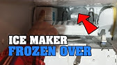 How to : Ice Maker repair Kenmore Elite - YouTube Kenmore Refrigerator Schematic Diagram on