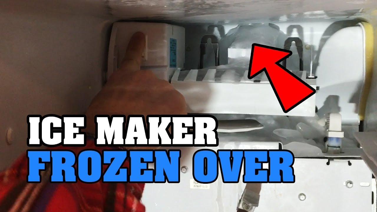 Ice Maker Frozen Over How To Fix Your Freezer Machine