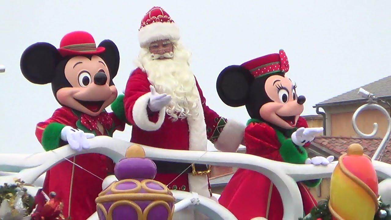 初日 パーフェクトクリスマス/2015年ディズニーシー水上ショー
