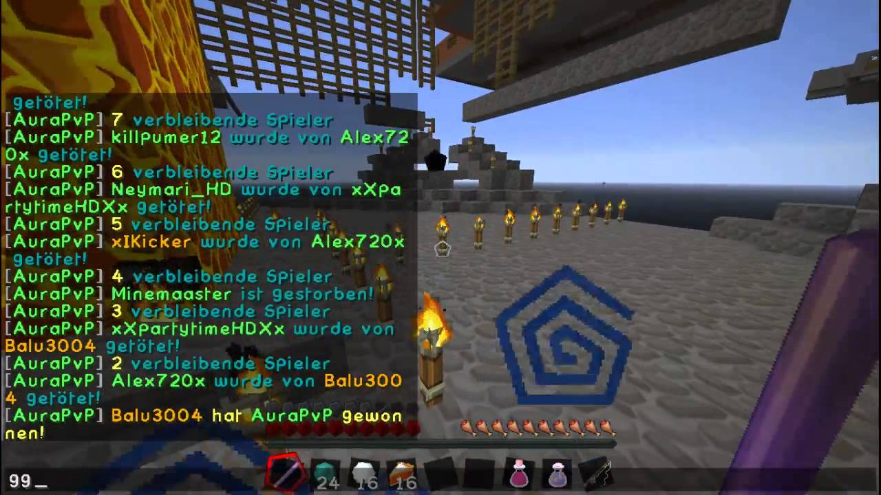 Diese Enderperlen Lets Play Minecraft Aura PvP YouTube - Minecraft spiele youtube