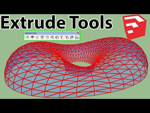 How to Use Extrude Tools in SketchUp