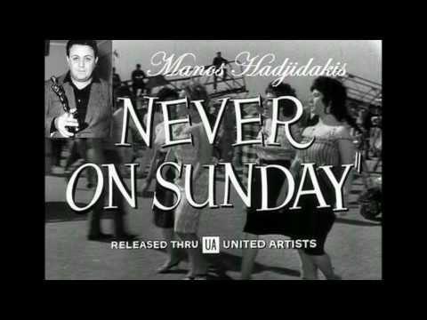 Manos Hadjidakis   Never on Sunday