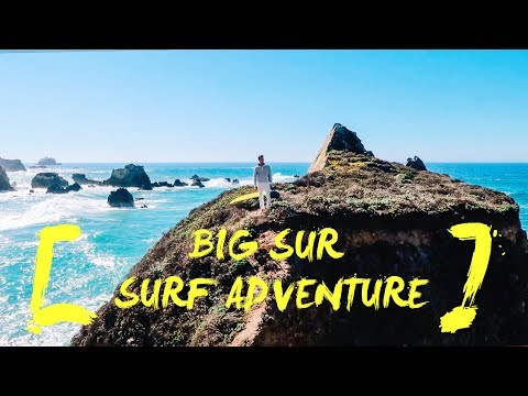 BIG SUR SURF ADVENTURE | CAPTAIN'S VLOG #6