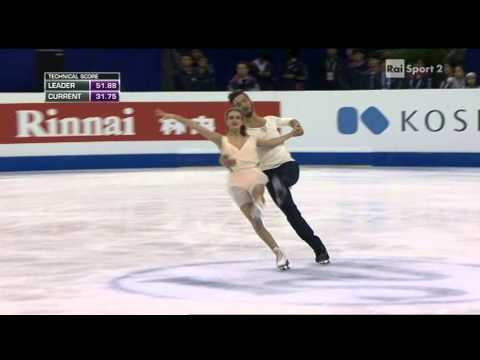 2015 Figure Skating World Champs Shanghai - dance - FD - PAPADAKIS CIZERON