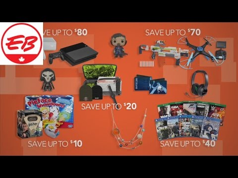 Boxing Week 2016 Commercial! | EB Games
