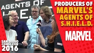 The Producers of Marvel's Agents of S.H.I.E.L.D. on Marvel LIVE! at San Diego Comic-Con 2016