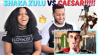 "Epic Rap Battles of History Season 4 ""Shaka Zulu vs Julius Caesar"" REACTION!!!!"