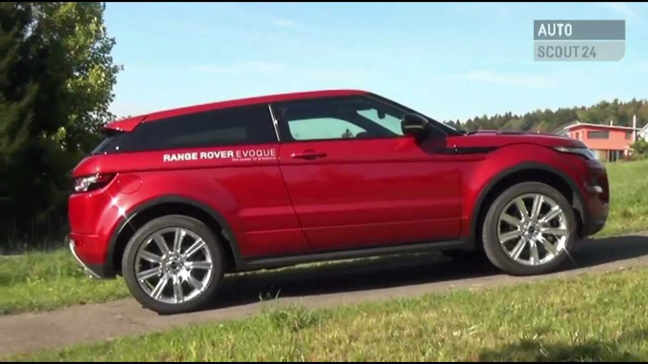 range rover evoque testbericht autoscout24 youtube. Black Bedroom Furniture Sets. Home Design Ideas