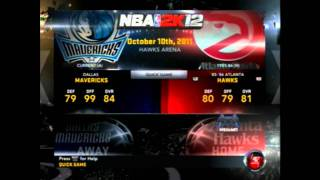 NBA 2K12 All Ledgends & Retro Teams unlocked