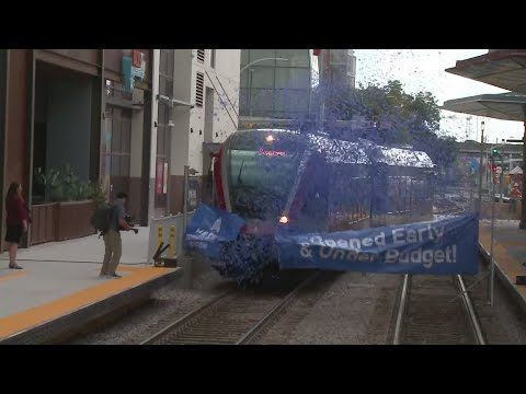 Capital Metro celebrates opening of downtown Austin station