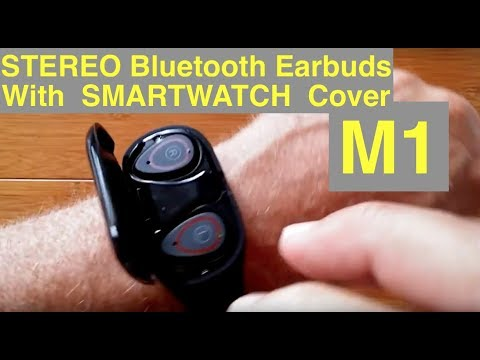 LEMFO M1 Health/Fitness Smart Bracelet With Stereo Earbuds: Unboxing And 1st Look