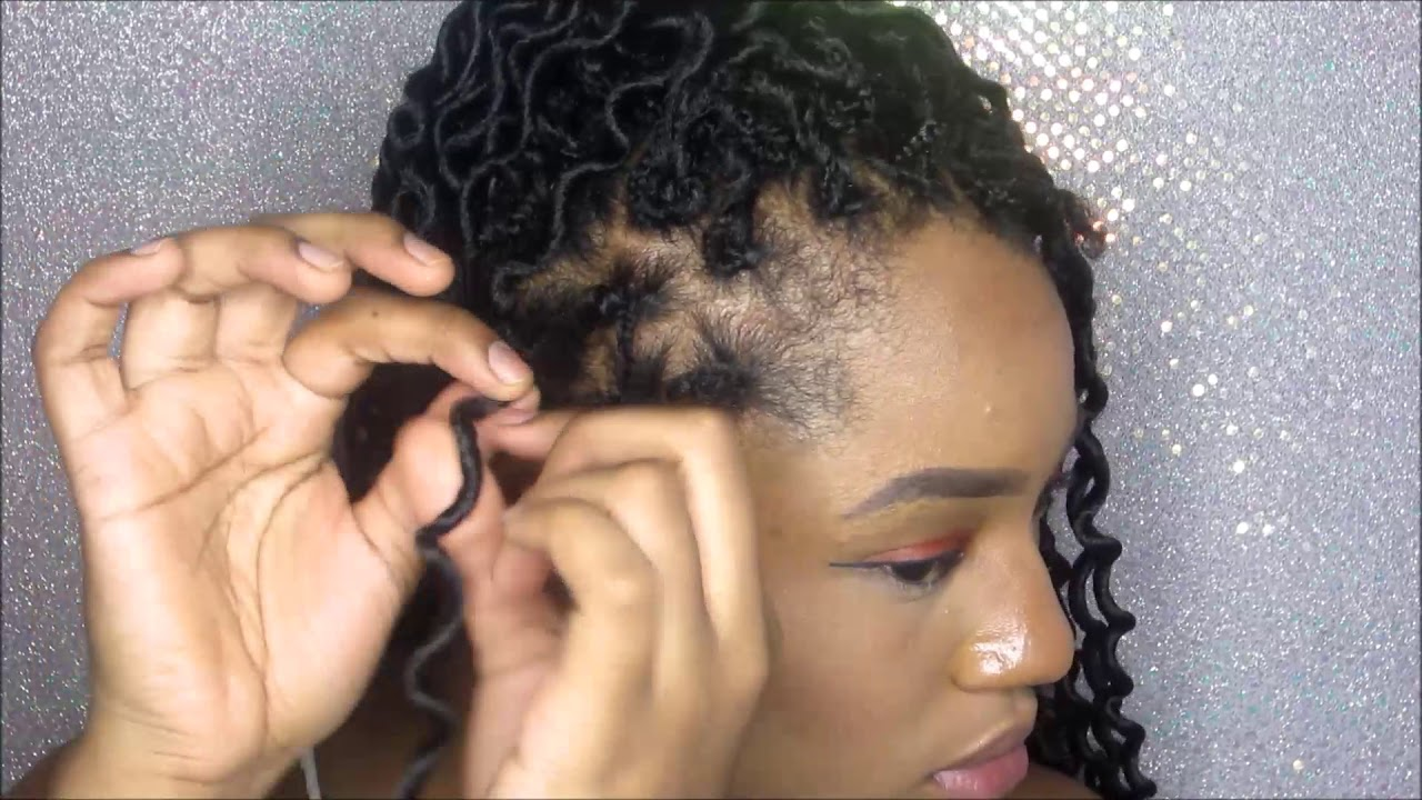 How To Crochet On Short Hair After Big Chop Ft Mambo Coily Dense