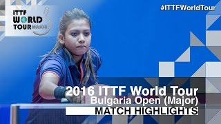 2016 Bulgaria Open Highlights: Wang Yi-Ju vs Reeth Tennison (Qual)