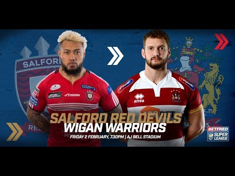 Salford Red Devils v Wigan Warriors, 02.02.18
