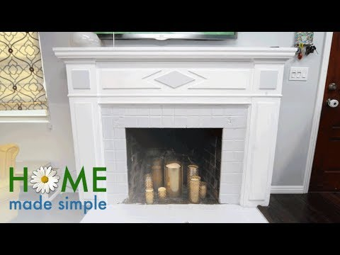 DIY Hurricane Lamps for Your Fireplace | Home Made Simple | Oprah Winfrey Network