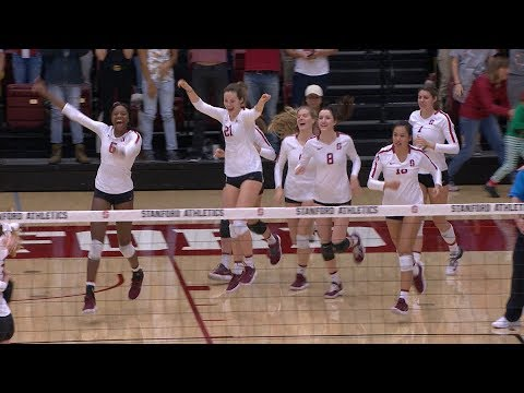 Recap: No. 1 Stanford women's volleyball advances past Loyola Marymount with second straight sweep