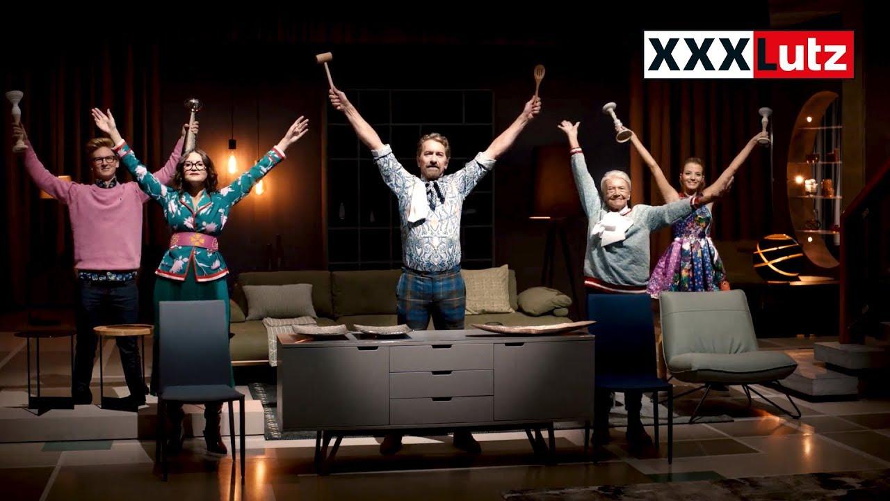 xxxlutz tv spot 2017 prozente trommeln youtube. Black Bedroom Furniture Sets. Home Design Ideas