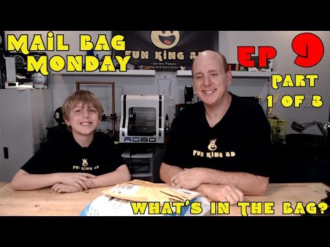 Mail Bag Monday Episode 9 Part 1 of 3 - Some cool printed items!