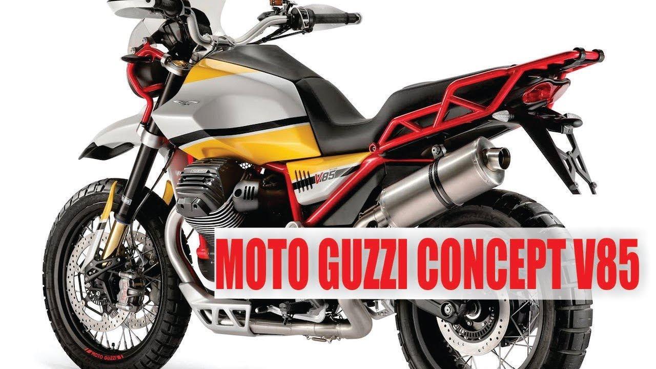 2018 moto guzzi concept v85 classic enduro adv youtube. Black Bedroom Furniture Sets. Home Design Ideas
