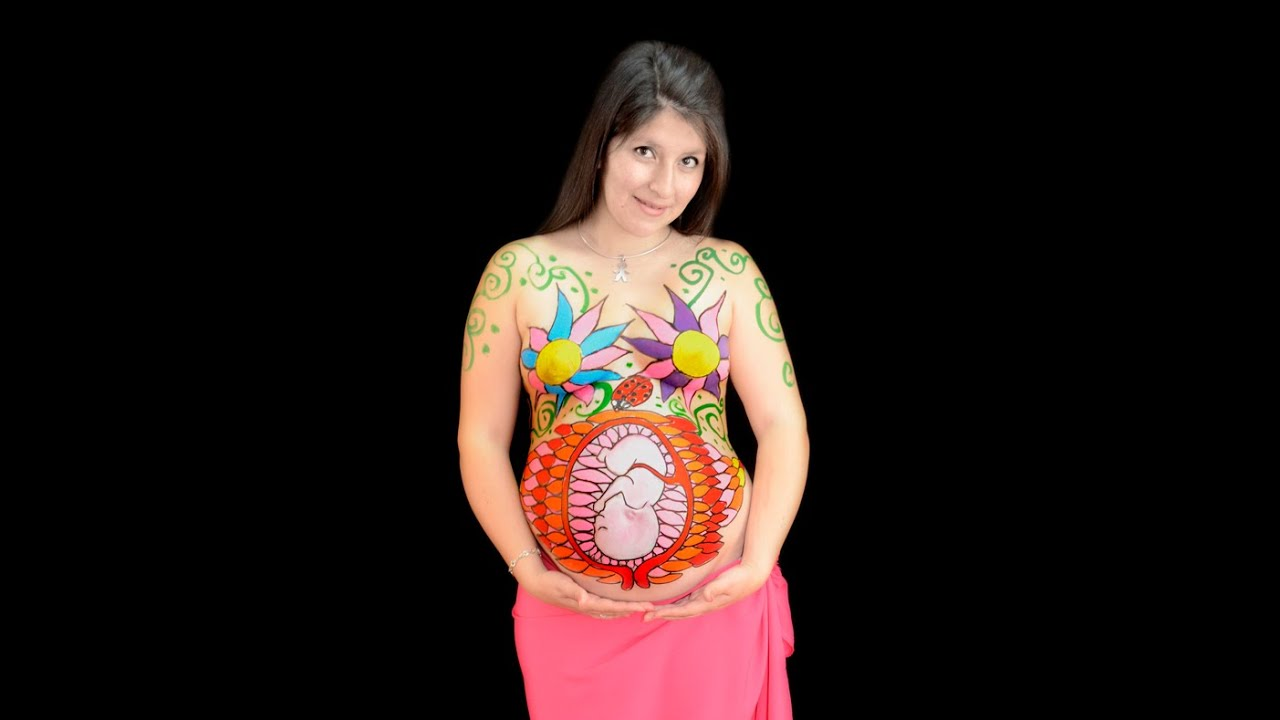 Body Painting Pregnant
