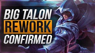 TALON REWORK CONFIRMED! | Getting New Abilities! - League of Legends