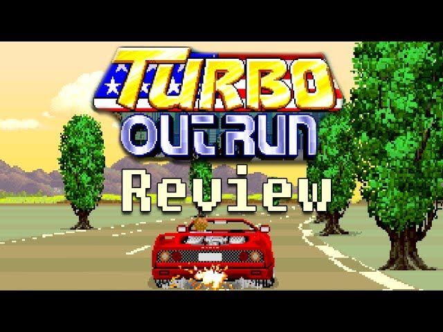 LGR - Turbo Outrun - Arcade Game Review