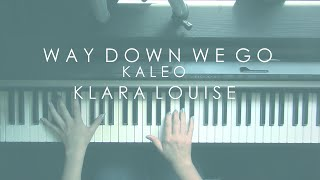 Скачать WAY DOWN WE GO Kaleo Piano Cover