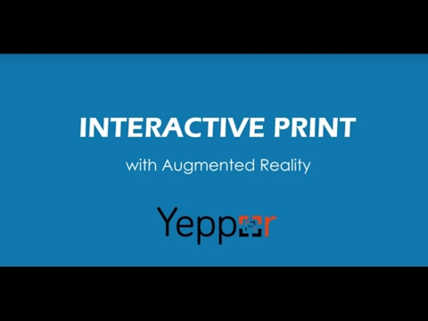 Augmented Reality In Newspaper | The Digital Revolution Of India | Yeppar