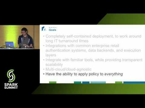 RubiOne: Apache Spark as the Backbone of a Retail Analytics Development Environment