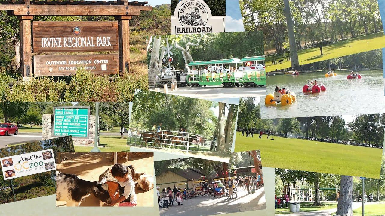 Walkthrough of Irvine Regional Park and Orange County Zoo Pedal Boat