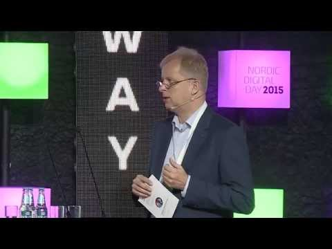 Nordic Digital Day 2015 - presentation of Norway