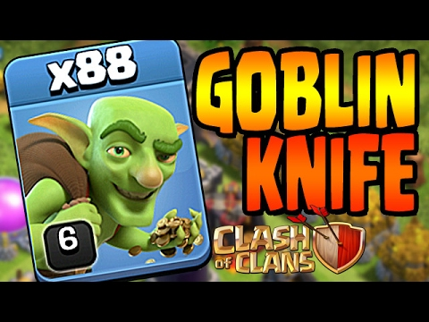 Clash of Clans: HOW TO GOBLIN KNIFE GUIDE
