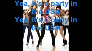 Miley Cyrus-Party in the USA(FULL) With Lyrics+ New Pics