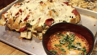 Bread/meat Lovers Pull Apart Bread Recipe /cheryls Home Cooking/episode 270