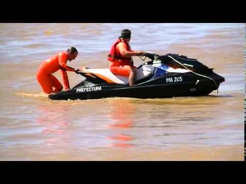 Moto de agua Sea-Doo MA-245 entrenando el el rio Parana 01-02-2015