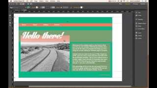 Preview an Adobe Muse website with Export HTML