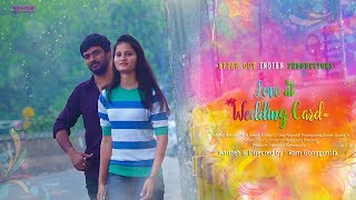 Love At Wedding Card || Telugu Short Film 2018 || By Ram Gonuguntla || Bilingual Short Film