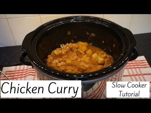 Slow Cooker Chicken Curry Tutorial