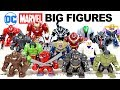 Venom Hulkbuster Thanos Armored Batman Avengers Marvel & DC Unofficial LEGO Big Figures Set 1
