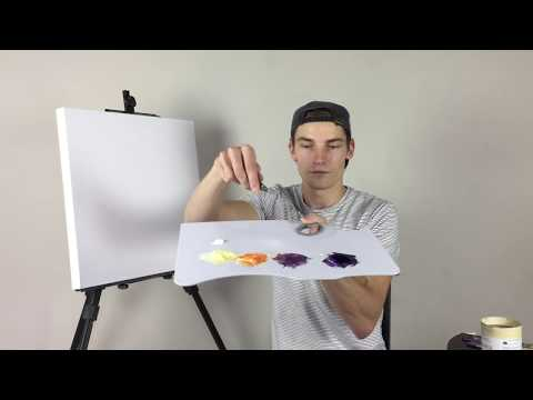 How to Blend Using Acrylics (ColorByFeliks)