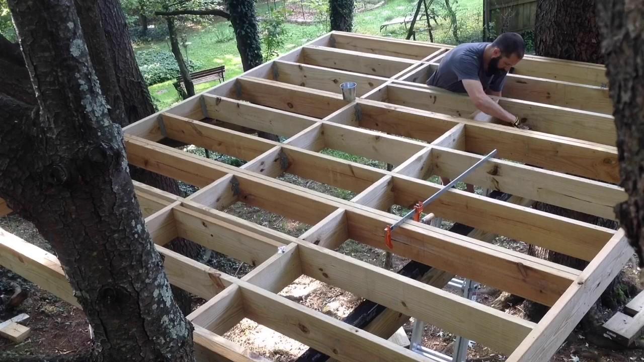 Treehouse 2 - Finishing up the floor