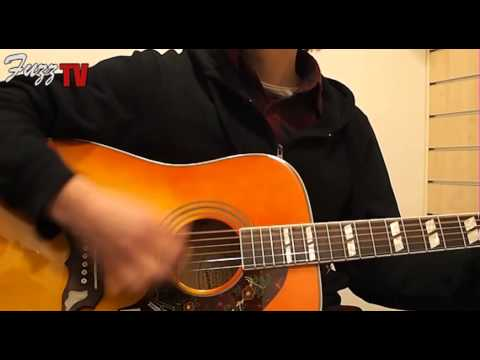 Fuzz Guitars: Epiphone Dove Pro