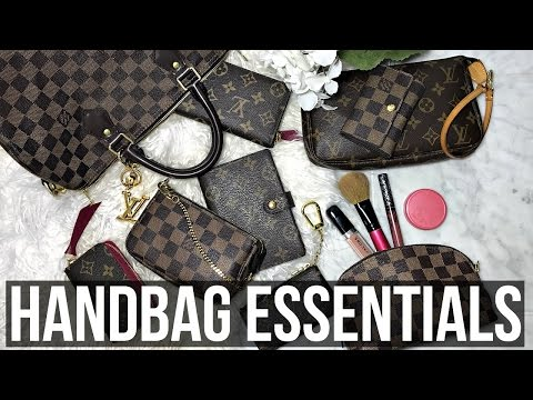 HANDBAG ESSENTIALS | Top 5 Louis Vuitton SLG's | Shea Whitney