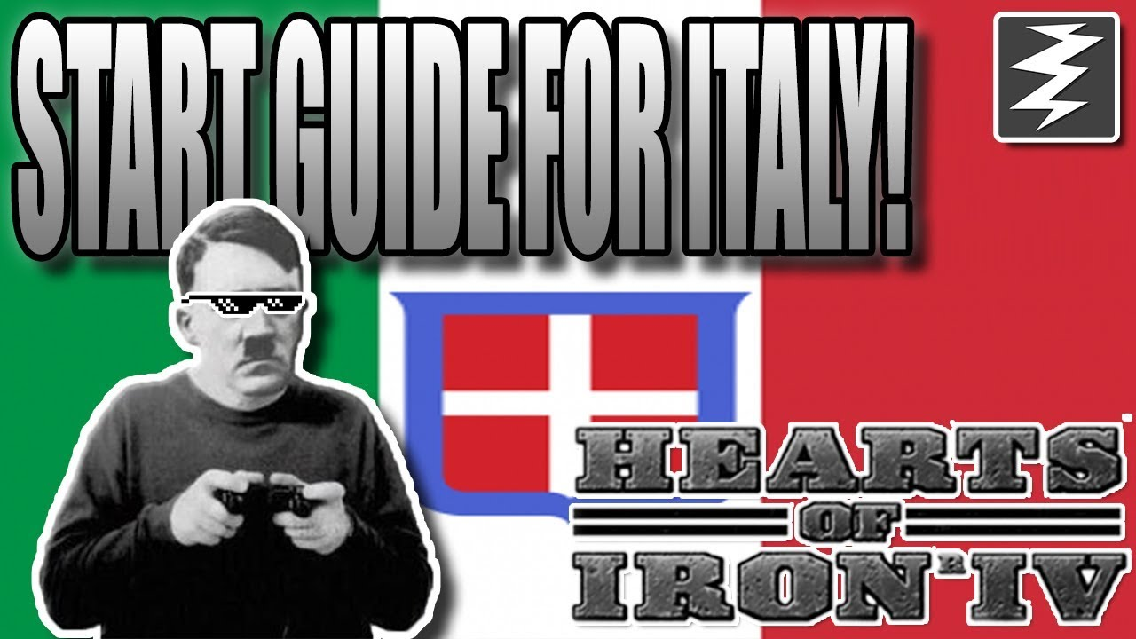 NOOB TUTORIAL Italy Quick Start Guide - Hearts of Iron IV HOI4