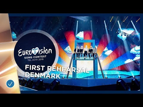 Denmark 🇩🇰 - Leonora - Love Is Forever - First Rehearsal - Eurovision 2019