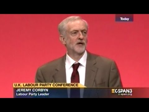 Jeremy Corbyn Gives Impassioned First Speech As Labor Leader To Standing Ovation!
