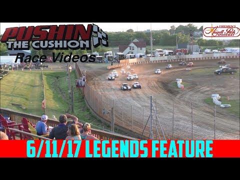 Angell Park Speedway - 6/11/17 - Legends - Feature